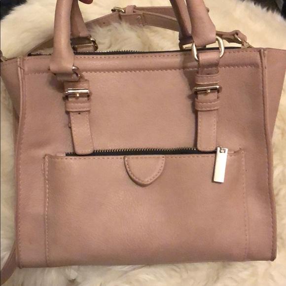9aea30ba8c Zara Mauve Large Crossbody Bag